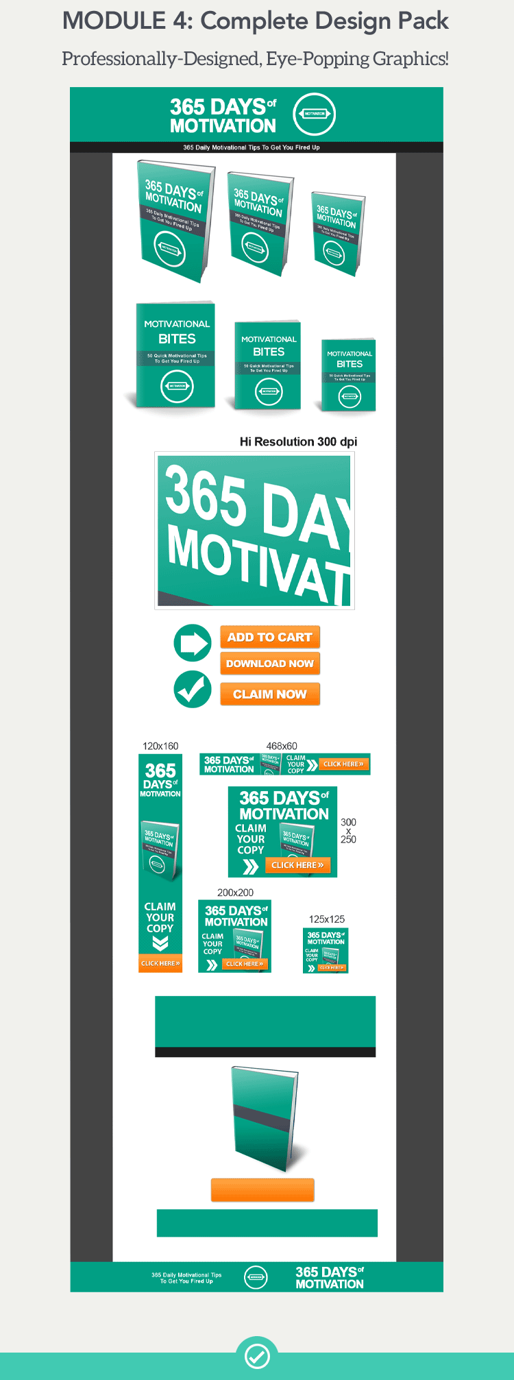 365 Days of Motivation + 10 Free eBooks With Resell rights ( PDF )